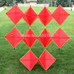 Kite lines online shopping - Outdoor Fun Sports D Red Ten Pieces Diamond Good Flying Factory Direct Sale