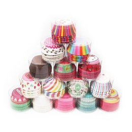 Cupcake Muffins Cake Australia - Fast shipping 100Pcs lot Paper Cake Forms Cupcake Baking Cup Case Party Cake Decoration Cupcake Paper Party Supplies Baking Tools Muffin Cup