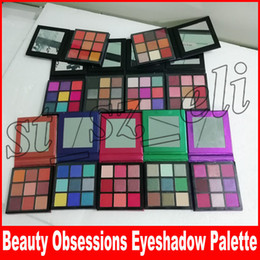 Smokey glitter eyeS online shopping - 9 Colors Eyeshadow Palette obsessions Makeup Eye shadow Smokey Mauve Electric Warm Brown Topaz Amethyst Ruby Emerald Sapphire Coral Gemstone