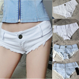 girls jeans minis NZ - Fashion Women Girls Casual Short Pants Mini Jeans Ripped Jeans Summer Beach Shorts Demin Pants