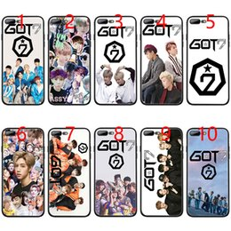 Iphone 6s Plus 5.5 Australia - GOT7 JinYoung Jackson Mark Soft Black TPU Phone Case for iPhone XS Max XR 6 6s 7 8 Plus 5 5s SE Cover