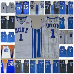 Ingram Duke Jersey NZ - NCAA Duke Blue Devils Kyrie Irving College Basketball  Jersey Jayson Tatum b95b6fe16