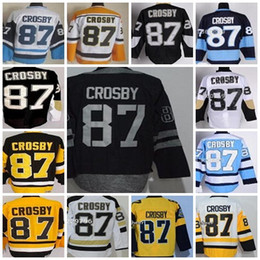 $enCountryForm.capitalKeyWord Australia - Mens Pittsburgh 87 Sidney Crosby Black Home C Patch Ice Hockey Jerseys size 48-5 ,Accept Drop shipping Custom Hockey Jersey