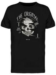 Black Shirt Loose Skull Australia - The Original Skull Sketch Men's Tee - Image By Wholesale Discount Cool Casual Pride T Shirt Men Unisex New Fashion Tshirt Loose Size