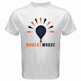 $enCountryForm.capitalKeyWord NZ - New Modest Mouse Logo Indie Rock Band Men's White T-Shirt Size S To 3Xl T Shirt Men Boy Fashion Custom Short Sleeve Valentine's Plus Size Pa