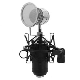 $enCountryForm.capitalKeyWord NZ - wired microphone TGETH BM-8000 Sound Studio Recording Condenser Wired Microphone With 3.5mm Plug Stand Holder Pop Filter For KTV Karaoke