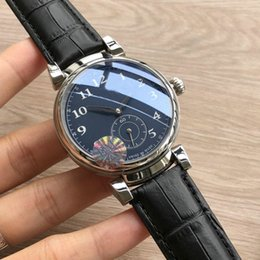 $enCountryForm.capitalKeyWord NZ - Luxury WATCHES DA VINCI FAMILY IW358102 Blue dial automatic machinery Genuine leather strap Mens Sport Watch brand Watches Gent Wristwatch