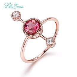 d1a82568f Red touRmaline jewelRy online shopping - Diamond Jewelry K Rose Gold  Tourmaline Rings For Women Red