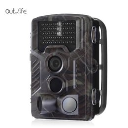 Shipping Mp Camera Australia - Outlife 16MP Digital 2G Hunting Night Vision Camera with GSM   GPRS Hunting Trail Camera 1080P HD Sensor Cameras 120 degre Free Shipping VB