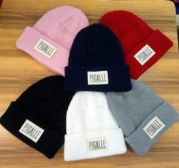 04ec28bd Winter brand Palace men Knitted hat fashion women casual cotton wool warm  Beanies hip hop skull caps gorros Free shipping