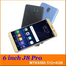 $enCountryForm.capitalKeyWord UK - 6 inch J8 PRO Quad Core MTK6580 Android 7.0 Smart phone 4GB Dual SIM camera 5MP 480*960 3G WCDMA Unlocked Mobile Gesture wake Free Case