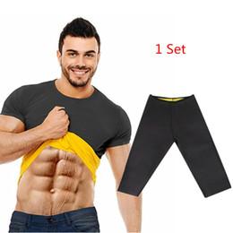$enCountryForm.capitalKeyWord NZ - Natural Weight-Loss Neoprene Hot Workout Body Shaper Pants Shirt Vest Men Women Sauna Sweat Shirt Thermal Shapers Slimming Pants
