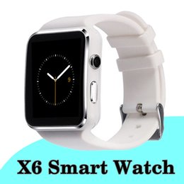 $enCountryForm.capitalKeyWord NZ - Curved Screen Bluetooth Smart Watch X6 Sport Passometer Smartwatch with Camera Support SIM Card Whatsapp Facebook for Android Phone