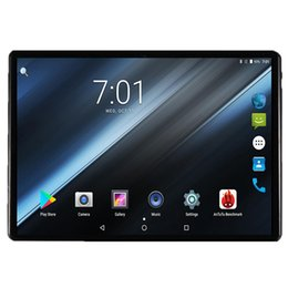 """Discount tablets - 10 inch Tablet PCs 3G 4G LTE Octa Core 4GB RAM 32GB ROM 5.0MP Android 7.0 GPS 1280*800 IPS Tablet PC 10 10.1"""" +Gift"""