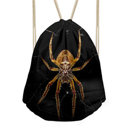 Drawstring Bags For Kids Canada - Custom Logo for Teenager Vintage Beach Pouch Fashion Coulisse Borsa Men's Small Drawstring Bag Kids Cool Backpack