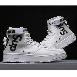 Vente en gros Mode Marque SUP Hommes Design Sneakers Baskets Chaussures Chaussures de Course pour Hommes Coureurs Appartements PU En Cuir Marque Racer Chaussures De Luxe