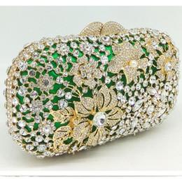 $enCountryForm.capitalKeyWord Canada - green women Diamond Minaudiere Clutch Evening Bags Women Wedding Party Cocktail Handbag Bridal Crystal Purse pink day clutches