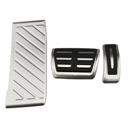 $enCountryForm.capitalKeyWord UK - Car Stainless Steel Pedal Pedals Cover for Volkswagen VW GOLF 7 GTi MK7 Lamando POLO A05 Passat B8 Skoda Rapid Octavia 5E 5F A7