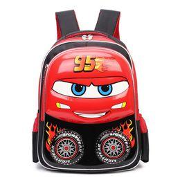 Kids bacKpacKs cars online shopping - Cartoon D car school bags boys  Orthopedic backpack Waterproof Children 9662127a06ae2