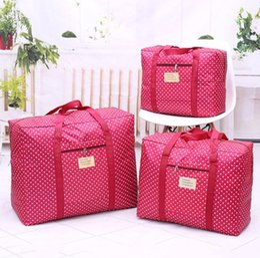 $enCountryForm.capitalKeyWord Canada - Home quilt bag Oxford cloth environmental protection cloth Big Home storage bag Bag Organizer Travelling bags 58*50*27 and 43*33*17 Dot