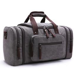 Mode Leinwand Männer Reisetaschen Große Kapazität Weibliche Frauen Reise Seesäcke Handgepäck Tasche Männer Wochenende Reise Handtaschen Neue