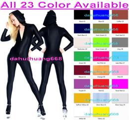 Xl Full Body Suits NZ - Unisex Full Bodysuit Costumes New 23 Color Lycra Spandex Suit Catsuit Costumes Unisex Sexy Body Suit Outfit Halloween Cosplay Costumes DH034