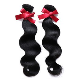 "brazilian virgin hair weave UK - 10-30"" Virgin Nadula Color Brazilian Body Wave 100% Human Hair Weaves 6a Unprocessed Remy Hair Extensions"