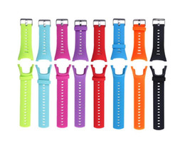 suunto strap 2019 - Watch Band for SUUNTO AMBIT 3 Strap Ambit 2 Ambit 1 Fashion Rubber Replacement Band Strap for SUUNTO Ambit 3 PEAK Ambi