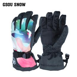 $enCountryForm.capitalKeyWord NZ - Gsou Snow Ski Gloves Women Waterproof Winter Snow Snowboard Bright Color Motorcycle Riding Female Skiing Snowboarding Gloves C18111501
