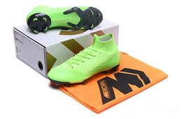 cr7 new soccer boots 2019 - With Box Bag 2018 New mens cleats Mercurial Superfly VI 360 Elite Ronaldo FG CR7 soccer shoes chaussures football boots