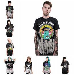 10e15582e813 Knitted tee shirt online shopping - 3D Digital Printing Shirts Summer  Casual Short Sleeve O neck
