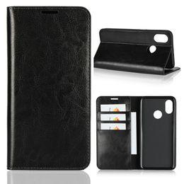 $enCountryForm.capitalKeyWord NZ - for xiaomi mi 8 case Dngn luxury handmade Genuine leather multi-function wallet kickstand card slot flip cover for mi8