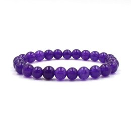 black gold filled jewelry 2019 - Natural Stone Yoga Bracelet Jewelry Tigereye Lapis Lazuli Purple Agate Bracelets & Bangles For Women & Men Gift discount