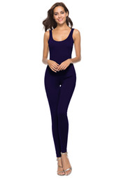 woman sexy jumpsuits black UK - 2018 Fashion Sexy Tight fitting sling Women Summer Short Paragraph Package Hip Sling Dress Tight-fitting Ride Jumpsuits
