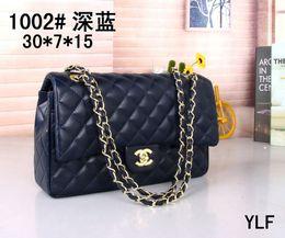 NyloN kNit fabric online shopping - 18 Classic Le Boy Flap bag women s Plaid Chain bag Ladies luxury High Quality Handbag Fashion designer purse Shoulder Messenger bags cm