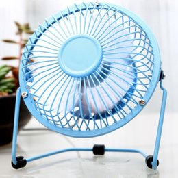 cool tablets 2019 - Mini Portable Metal USB Fan Desk Cooling Fan Quiet Summer Tablet Home Office Use For Computer Laptop PC Plug & Play chea