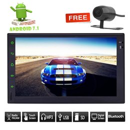 2din kit online shopping - ANDROID WIFI QUAD Core Double din Car P Video Player Stereo RDS Radio GPS Navigation car Rear Camera Bluetooth WIFI Phone