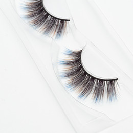 $enCountryForm.capitalKeyWord UK - Seashine three color 3d fancy color silk eyelashes 3d colorful silk eyelashes false fancy color lashes free shipping C7