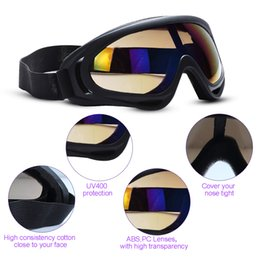 Girls Ski Goggles Canada - Outdoor Glasses Motorcycle Sunglasses for Men & Women Youth Sport Tactical Goggles Windproof Sand Ski Goggles Sunglasses UV Protection Color