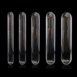 $enCountryForm.capitalKeyWord NZ - Cylinder Glass Dildo Big Huge Large Glassware Penis Crystal Anal Plug Women Sex Toys for Women G spot Stimulator Pleasure Wand D18111304