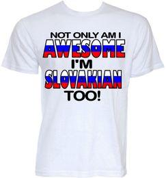 7da8019d4 SLOVAKIAN T-SHIRTS MENS FUNNY NOVELTY JOKE SLOGAN SLOVAKIA FLAG GIFTS T- SHIRT