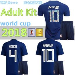 447c5c22b Discount japan soccer shirt - men kit 2018 World Cup Japan home blue Soccer  jersey OKAZAKI