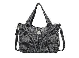 cowboy shoulder bag 2019 - Woman cowboy shoulder bags men Handbag New Fashion Messenger Bag cotton canvas travel bags for men high quality soft sli