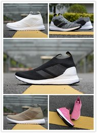 classic f0aa5 fffc4 High Quality ACE 16+ PureControl Ultra Boots Uncaged Running Shoes for  Women Men Trainers ACE 16+ Ultra Boosts Athletic Sports Sneakers