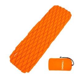 Wholesale TOMSHOO Ultralight Outdoor Inflatable Cushion Sleeping Camping Mat Sleeping Pad Mattress for Camping Hiking Backpacking Travel