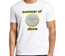 $enCountryForm.capitalKeyWord Australia - Summer of Dove. Mens Acid house themed tee with Dove pill reference Fashion Style Men Tee 100% Cotton Classic tee Newest Top Tees