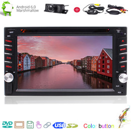 Universal Stereo Australia - Android 6.0 Car DVD Stereo Video Player Universal Vehicles Quad Core Double din in Dash 800*480 Screen Autoradio GPS Navigation Bluetooth