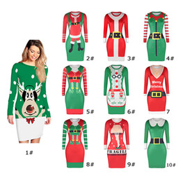 1b59cb8fa7 Ebay sExy drEss online shopping - 2018 new Colors eBay Hot Christmas Maid  Digital Print Dresses