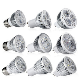 Led Light buLb square spot online shopping - CREE LED Bulbs W W W Led Spot Bulbs Light E27 E26 MR16 GU10 Led Dimmable Lights Lamp AC V V