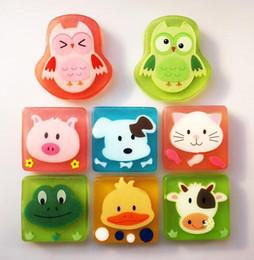 Bath Body oils online shopping - liu natural children cartoon Oil Handmade Soap Portable Bath